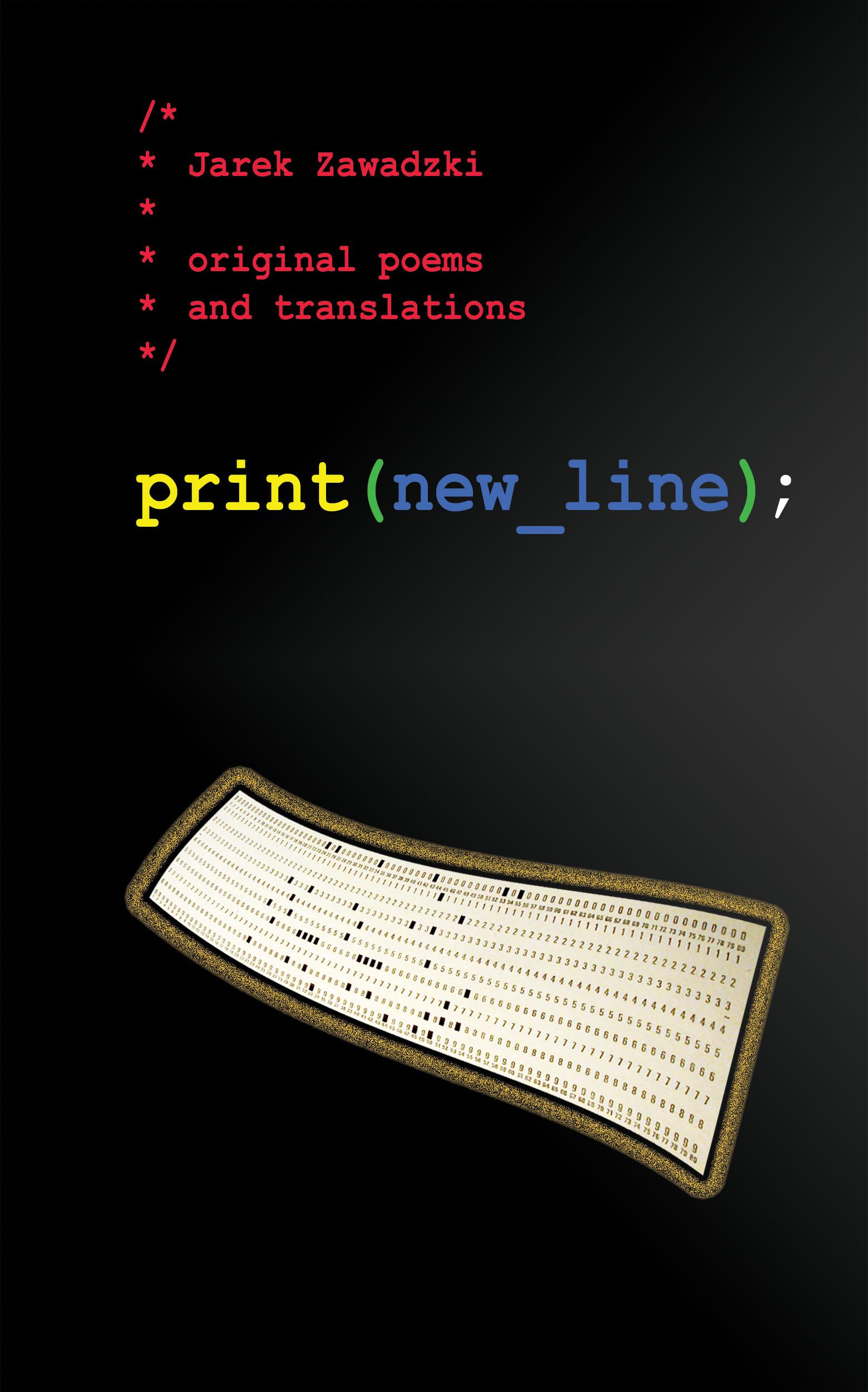 print(new_line);: original poems and translations